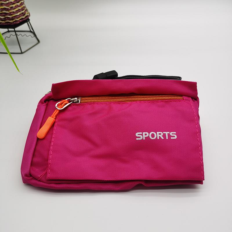 waist bag in pink color 002