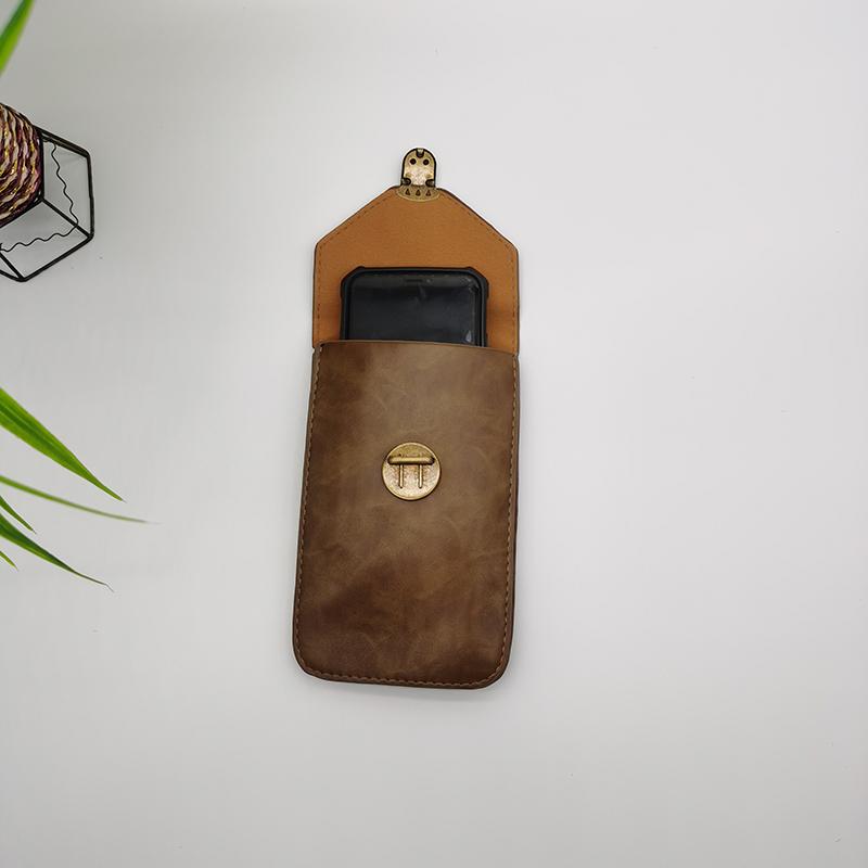 waist phone leather hangbag004